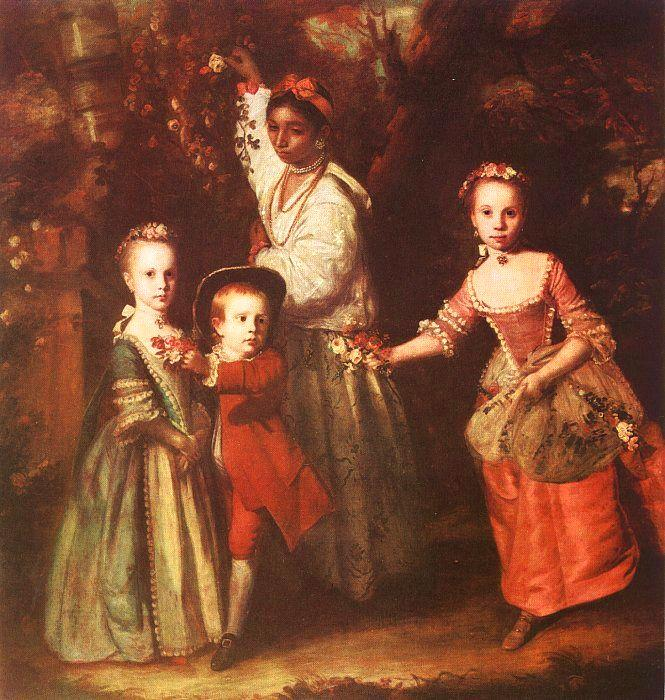 Sir Joshua Reynolds The Children of Edward Hollen Cruttenden Germany oil painting art