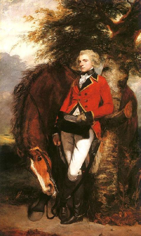 Sir Joshua Reynolds Colonel George K.H. Coussmaker Germany oil painting art