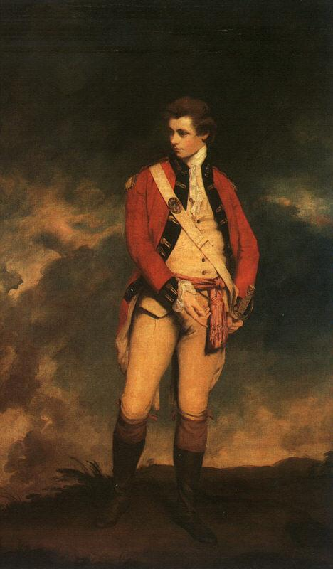 Sir Joshua Reynolds Colonel St.Leger Germany oil painting art