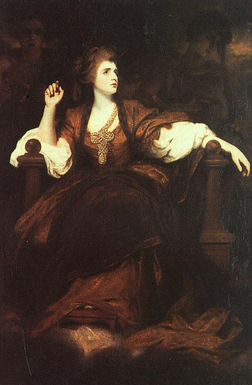 Sir Joshua Reynolds Portrait of Mrs Siddons as the Tragic Muse Germany oil painting art