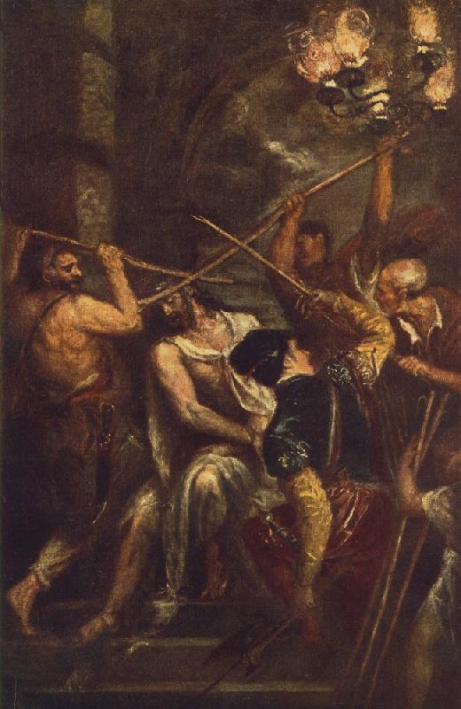 TIZIANO Vecellio Crowning with Thorns st oil painting image