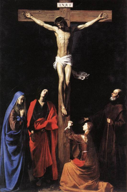 TOURNIER, Nicolas Crucifixion set oil painting image
