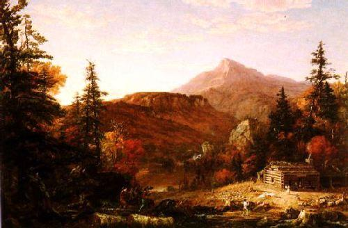 Thomas Cole The Hunter's Return Germany oil painting art