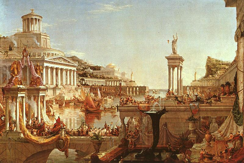 Thomas Cole The Consummation from the series : The Course of the Empire Germany oil painting art
