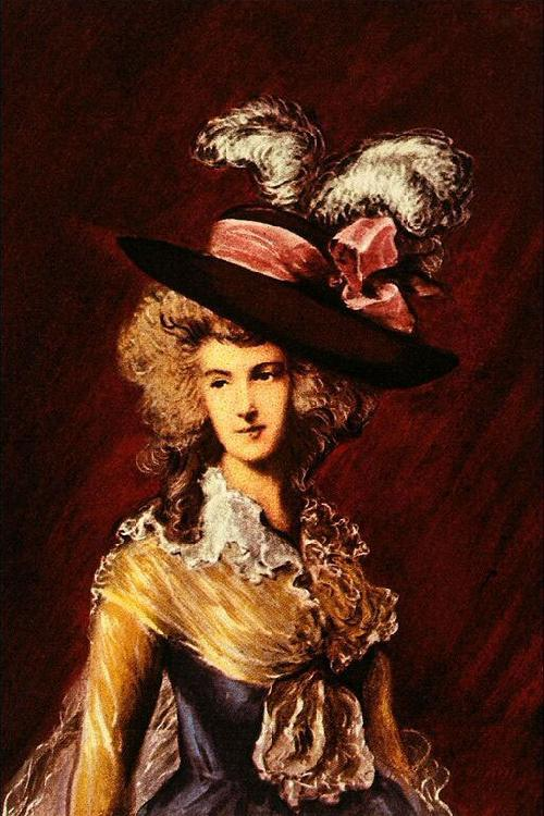 Thomas Gainsborough Ritratto oil painting image