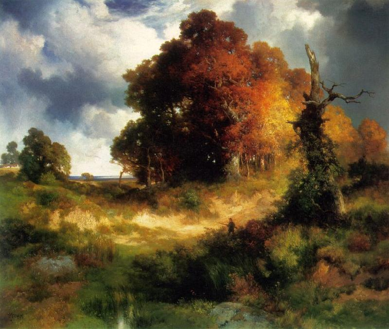 Thomas Moran Autumn Germany oil painting art
