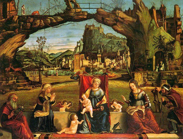 Vittore Carpaccio Holy Conversation oil painting image