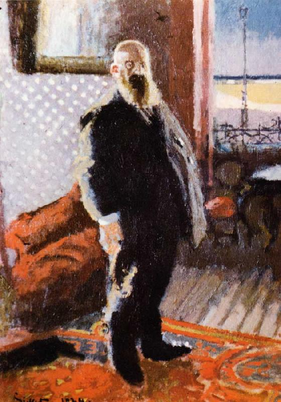 Walter Sickert Victor Lecour Germany oil painting art