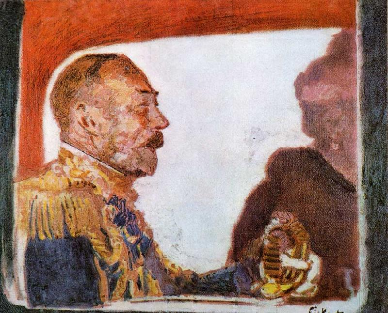 Walter Sickert King George V and Queen Mary Germany oil painting art