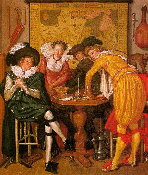 Willem Buytewech Merry Company oil painting image
