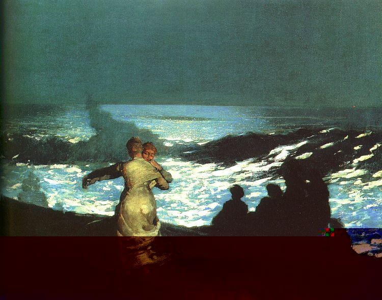 Winslow Homer Summer Night Germany oil painting art