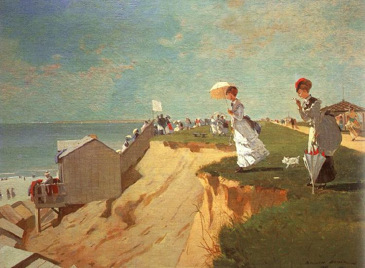 Winslow Homer Long Branch, New Jersey Germany oil painting art