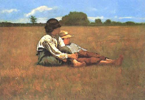 Winslow Homer Boys in a Pasture Germany oil painting art