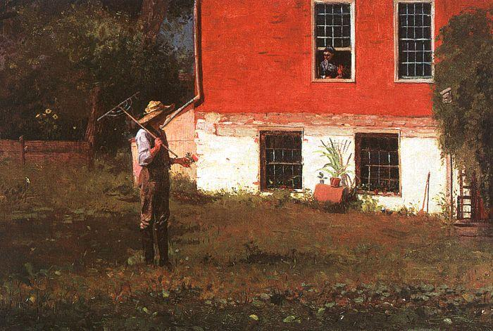 Winslow Homer The Rustics Germany oil painting art