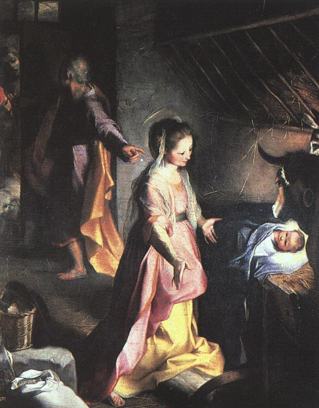 Barocci, Federico The Nativity oil painting image
