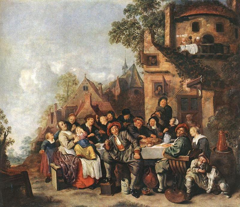 MOLENAER, Jan Miense Tavern of the Crescent Moon g oil painting image
