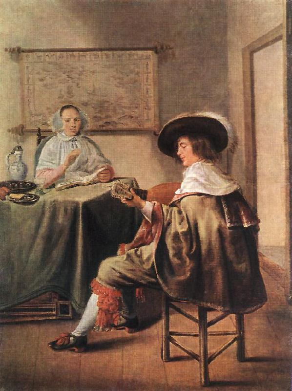MOLENAER, Jan Miense The Music-Makers ag oil painting image