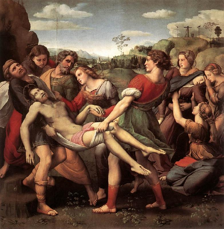 RAFFAELLO Sanzio The Entombment sys oil painting image