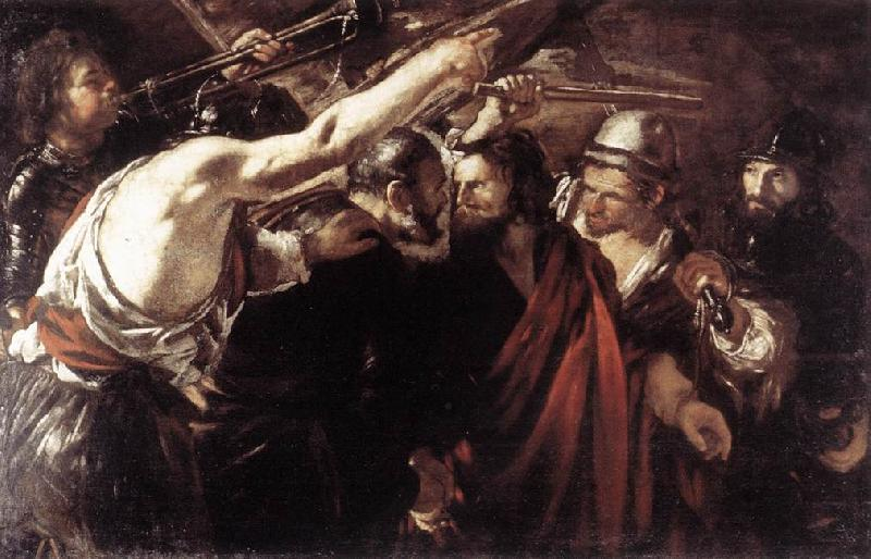 SERODINE, Giovanni Parting of Sts Peter and Paul Led to Martyrdom set oil painting image
