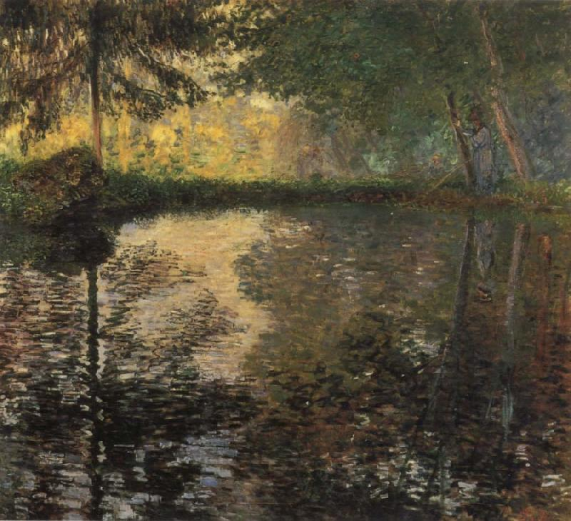 Claude Monet The Pond at Montgeron oil painting picture