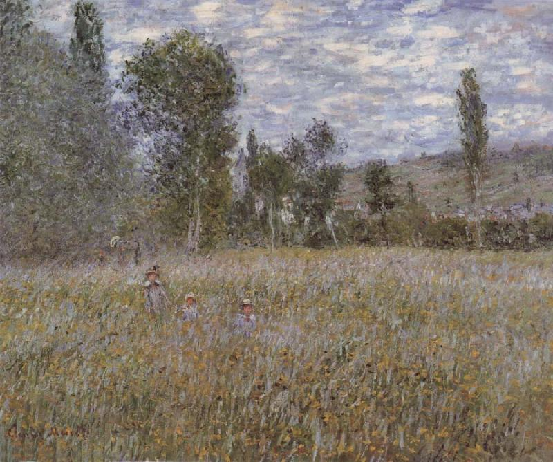 Claude Monet A Meadow oil painting picture