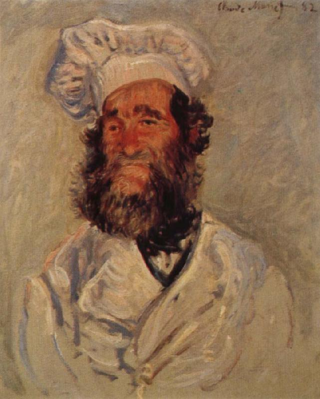 Claude Monet Portrait of Pere Paul oil painting picture