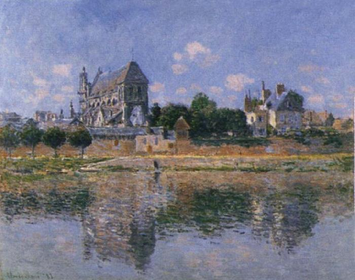 Claude Monet View of the Church at Venon oil painting picture