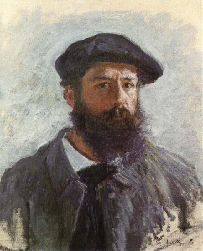 Claude Monet Self-Portrait with a Beret oil painting picture