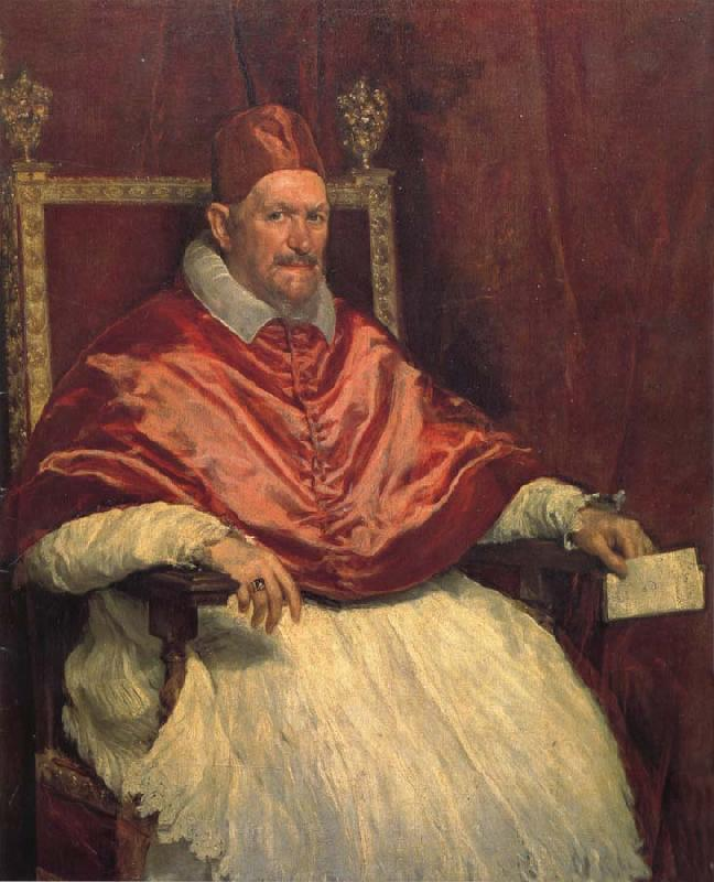 Diego Velazquez Pope Innocent x oil painting picture