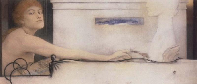 Fernand Khnopff The Offering oil painting picture