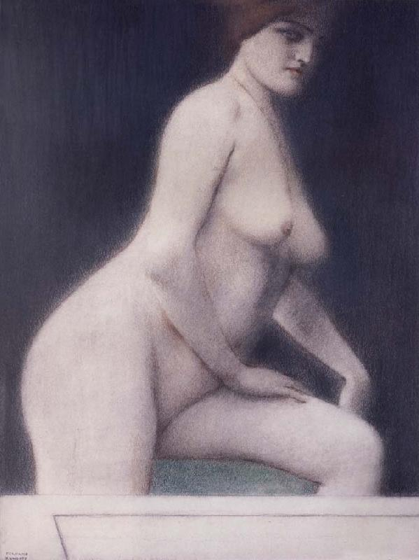 Fernand Khnopff Loss oil painting picture