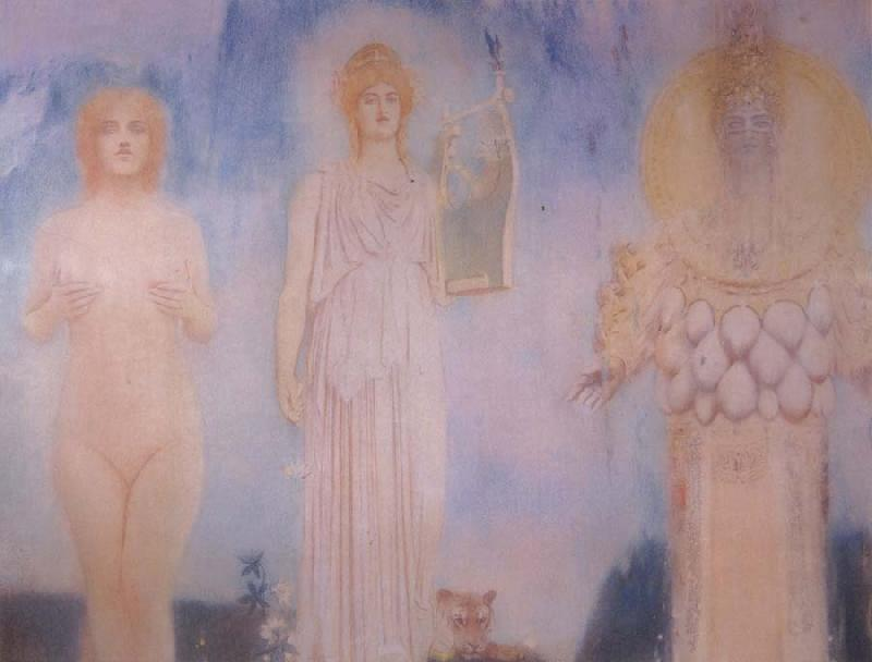 Fernand Khnopff Orpheus oil painting picture