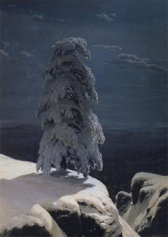 Ivan Shishkin Infrequent of the North oil painting picture