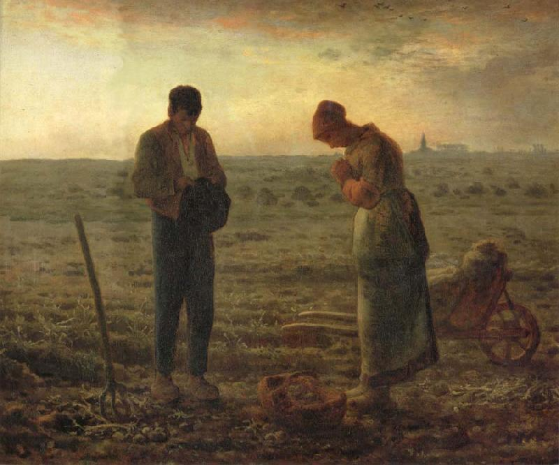Jean Francois Millet The Angelus oil painting picture