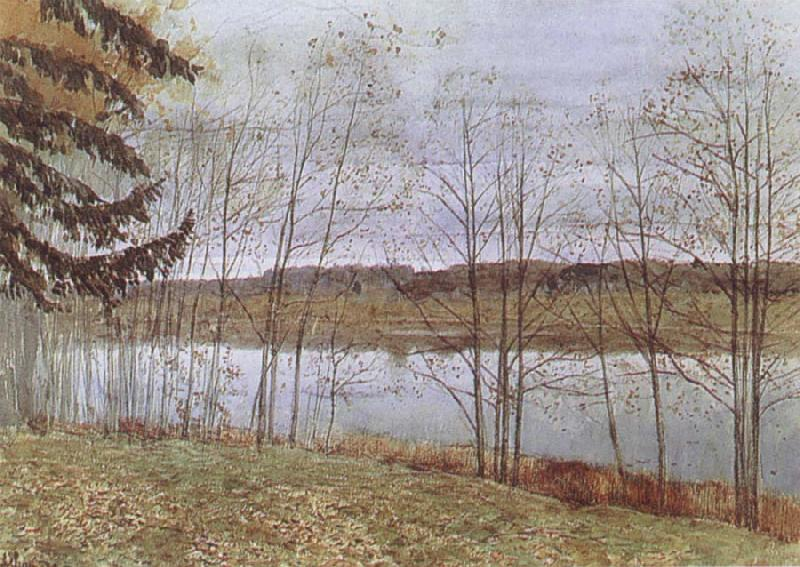 Isaac Levitan Autumn oil painting picture