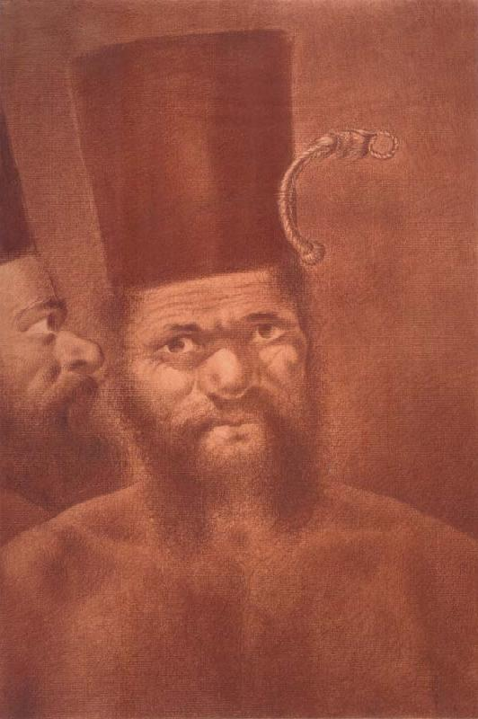 unknow artist Man of New Caledonia oil painting picture