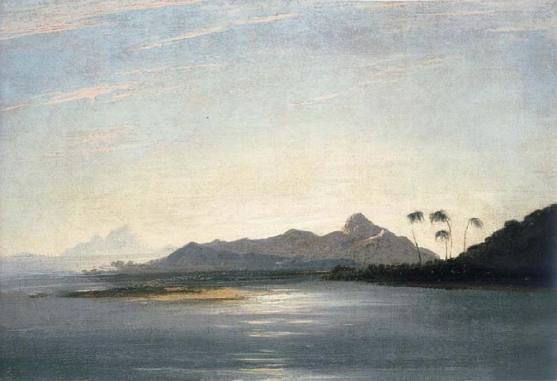 unknow artist A View of the Islands of Otaha Taaha and Bola Bola with Part of the Island of Ulietea Raiatea oil painting picture