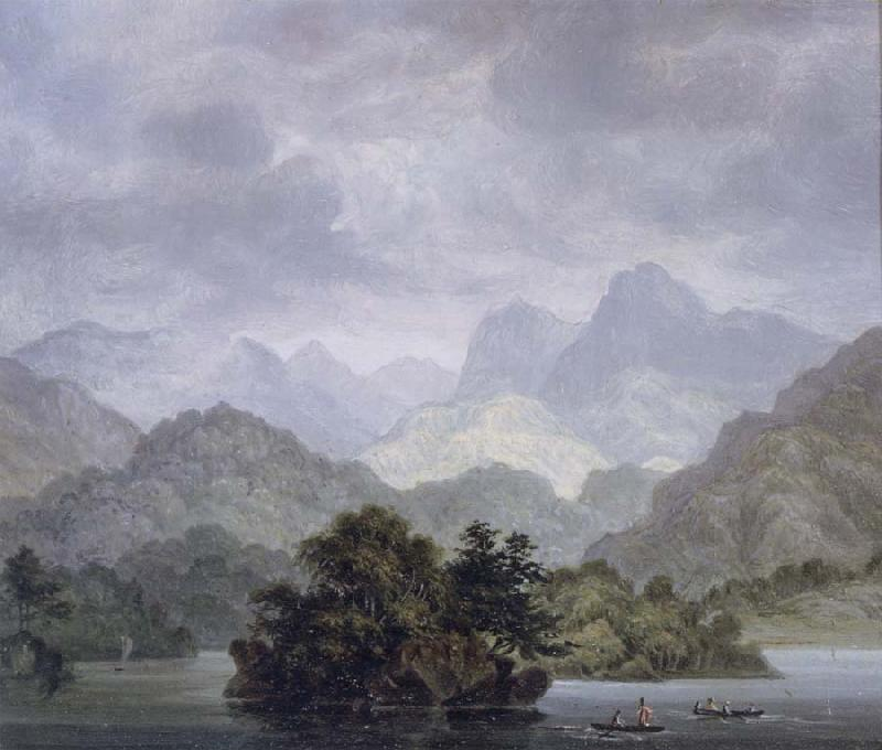 unknow artist Dusky Bay,New Zealand,April 1773 oil painting picture