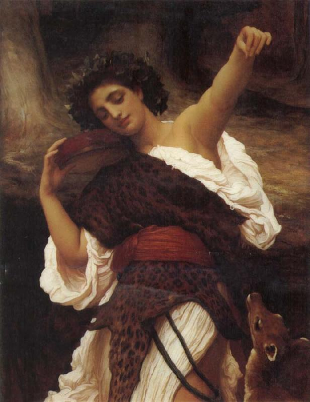 Frederick Leighton The Tambourine Player oil painting picture