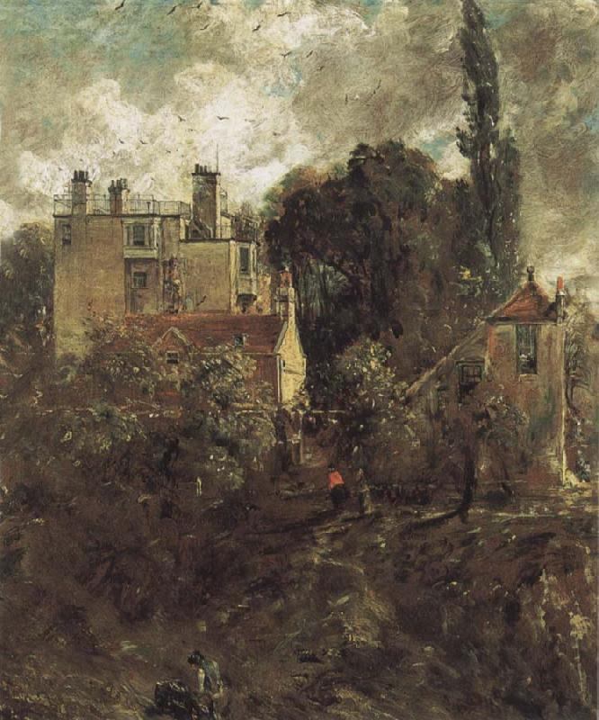 John Constable The Grove,or the Admiral-s House Hampstead oil painting image