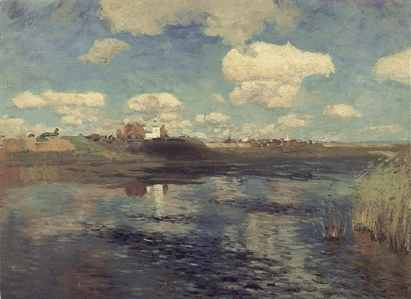 Levitan, Isaak The Lake oil painting image