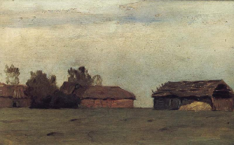 Levitan, Isaak Landscape with Gebauden oil painting image