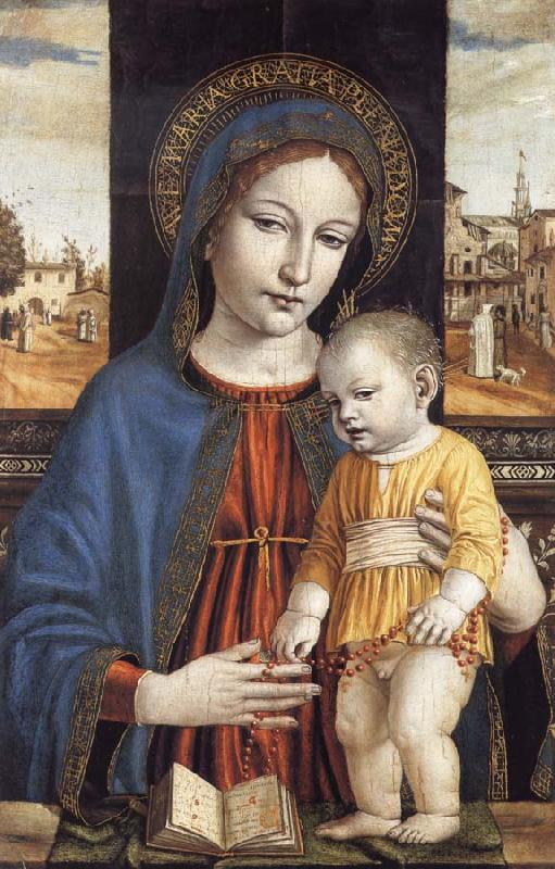 Bergognone The Virgin and Child oil painting image