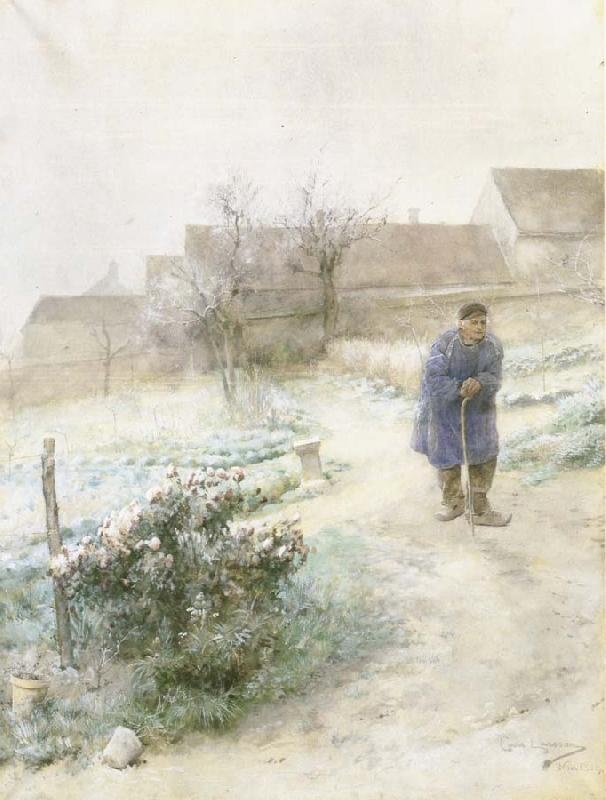 Carl Larsson November oil painting image