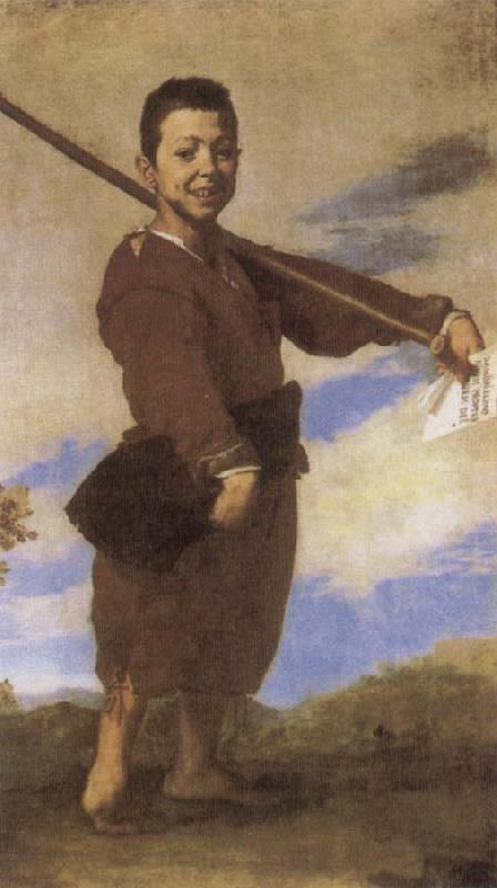 Jusepe de Ribera Boy with a Club foot oil painting image
