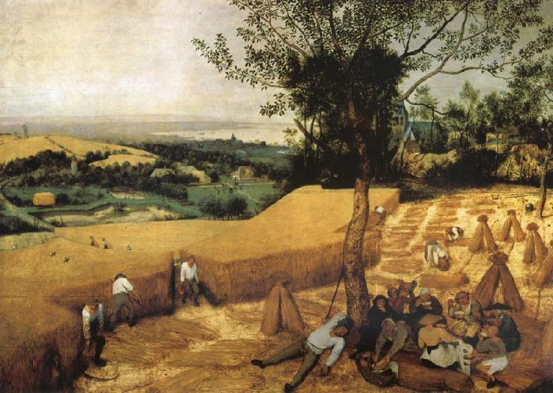 Pieter Bruegel The harvest oil painting picture