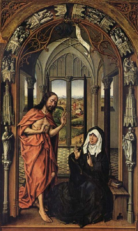 Rogier van der Weyden Christ Appearing to His Mother oil painting image