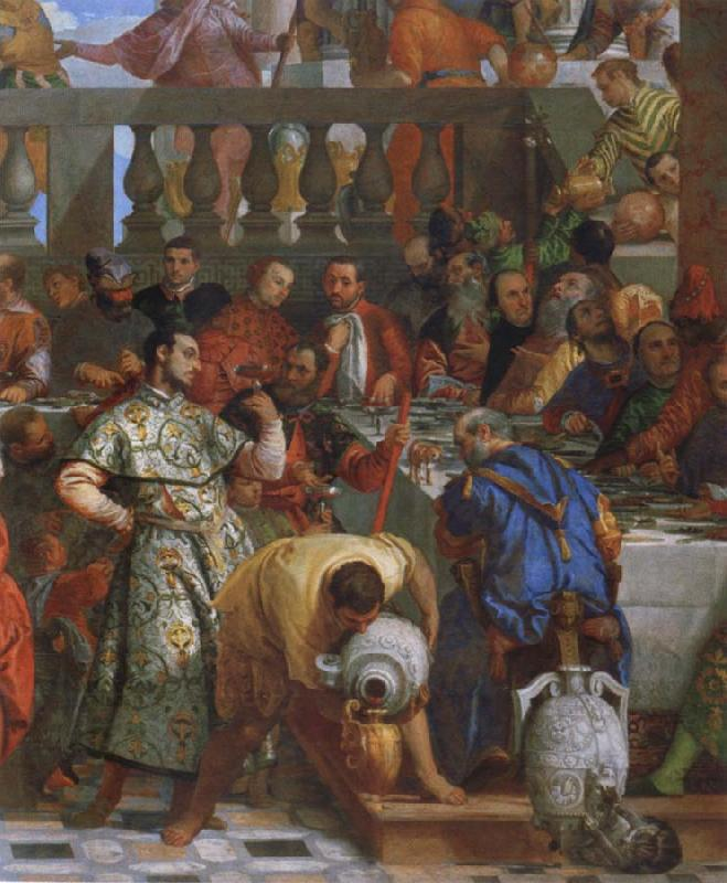 Paolo  Veronese The wedding to canons oil painting image