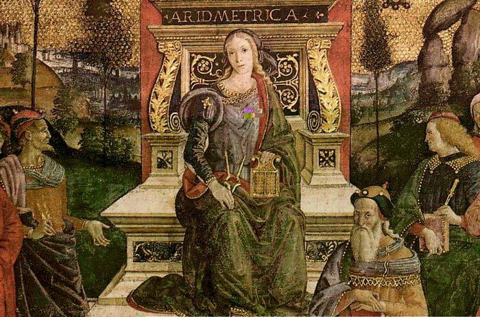 Pinturicchio The Arithmetic oil painting picture