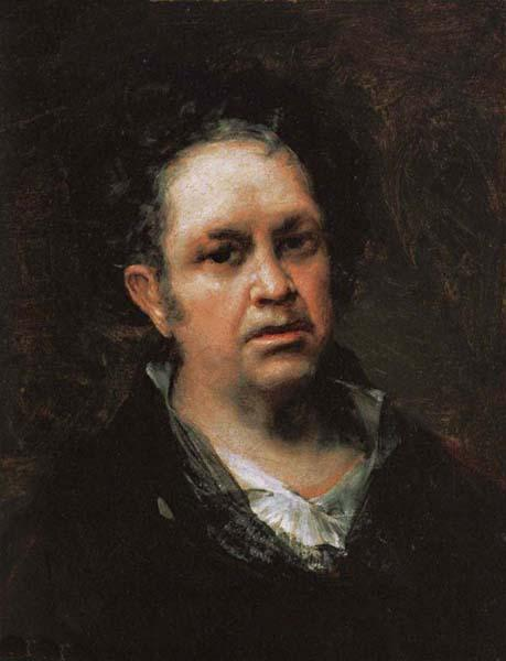 Francisco Goya Self-Portrait oil painting image